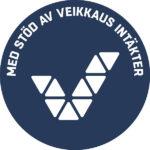 Med stöd av Veikkaus intäkter -logo